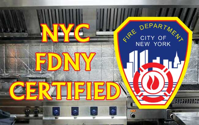NYC-FDNY-CERTIFIED Hood Cleaners